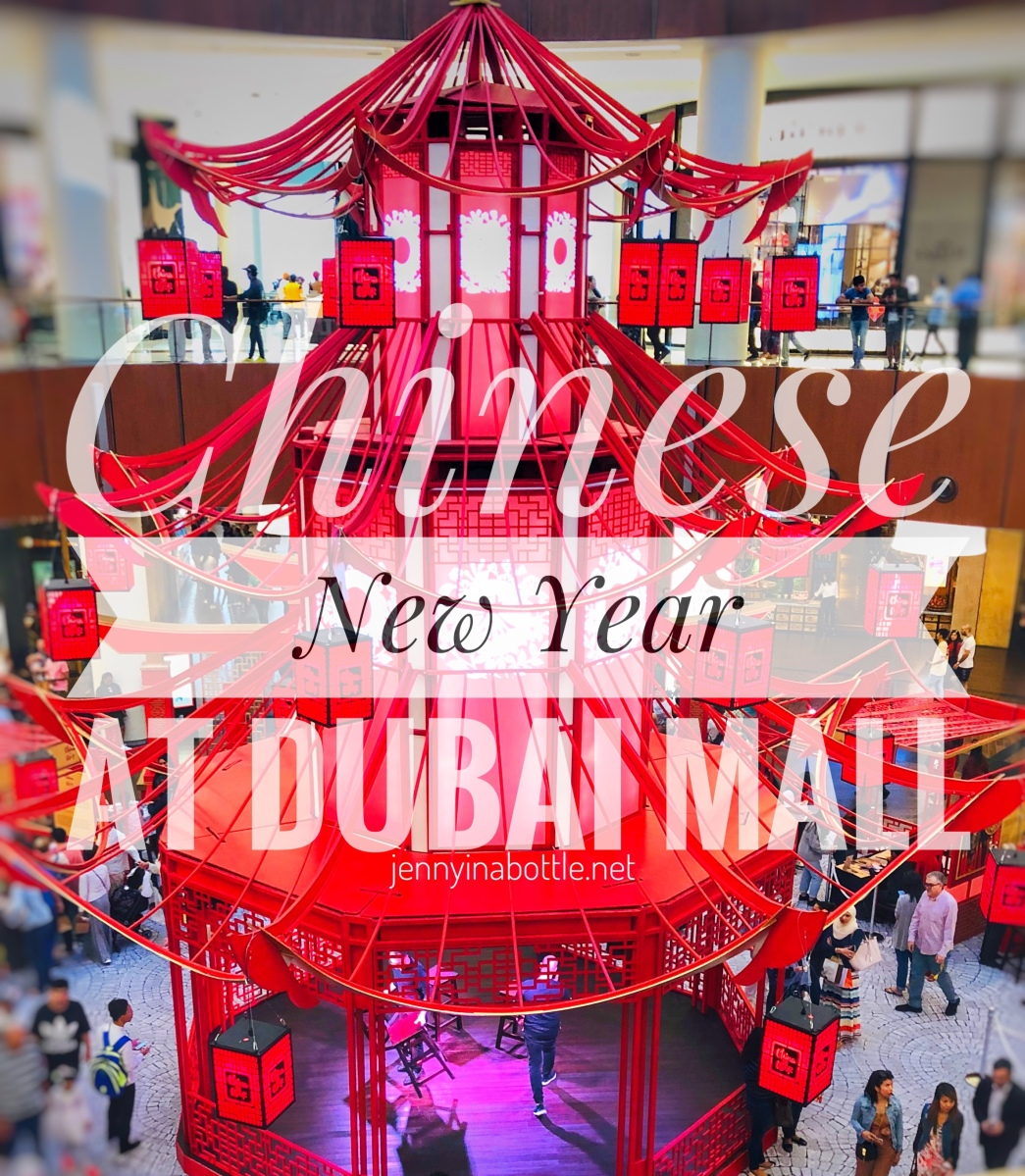 Gong Xi Fa Cai - Chinese New Year Celebration in Dubai Mall